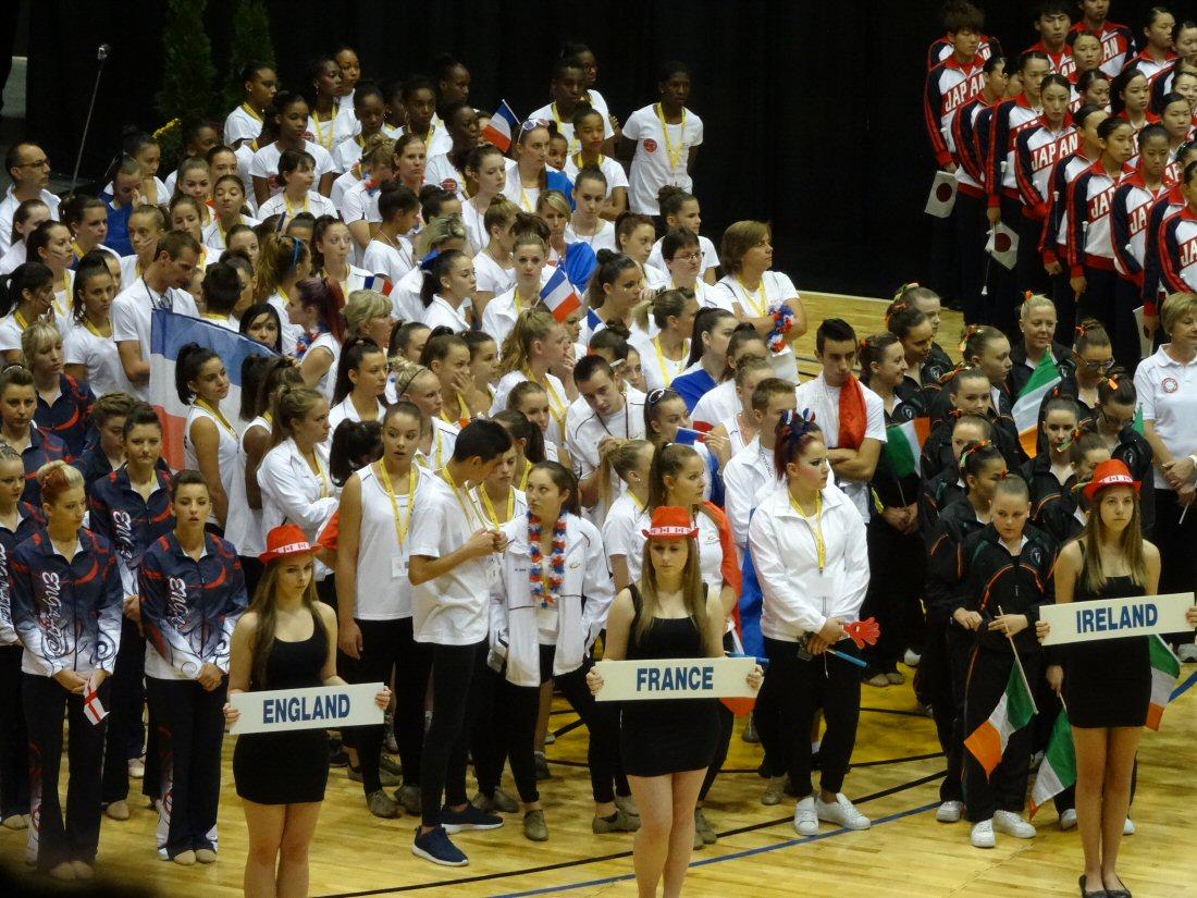 cérémonie d'ouverture